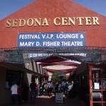 Sedona Int'l Film Festival entrance to Filmmakers' Lounge